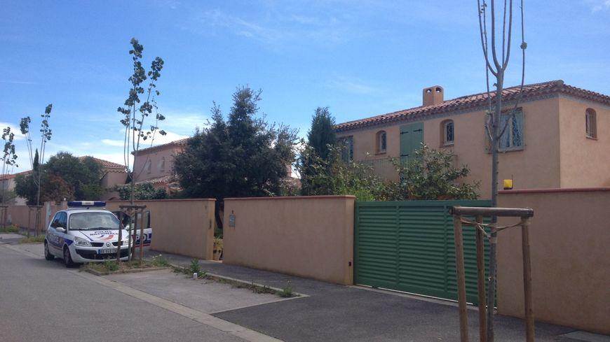 La maison du drame rue Pierre Boulat à Perpignan