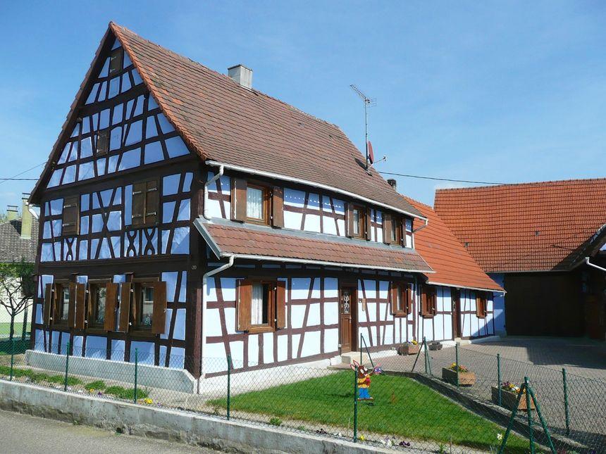 L'une des jolies maisons de Mothern - Radio France