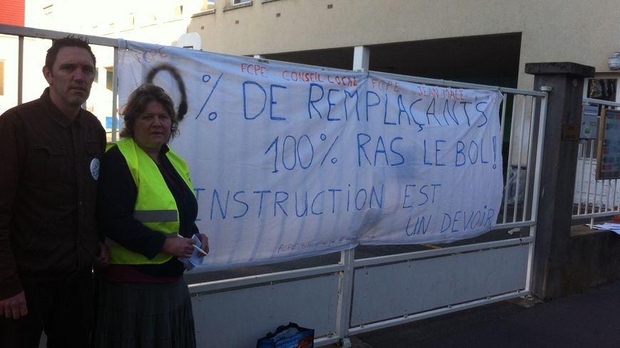 Les Parents d'élèves de l'école Jean Macé en ont assez que les profs ne soient pas remplacés