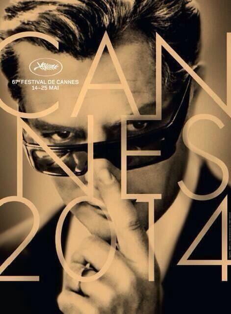L'affiche du 67ème festival de Cannes, un portrait de Marcello Mastroianni - Festival de Cannes