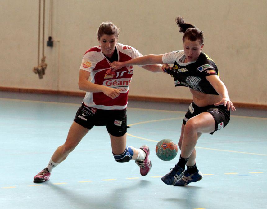 Noémie Lachaud ici en action face à Nîmes. - UMB-B