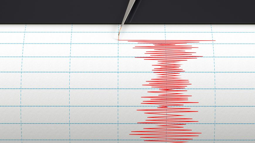 séisme, sismographe, tremblement de terre
