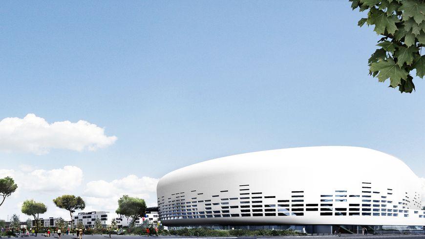 La future grande salle de spectacles de Floirac