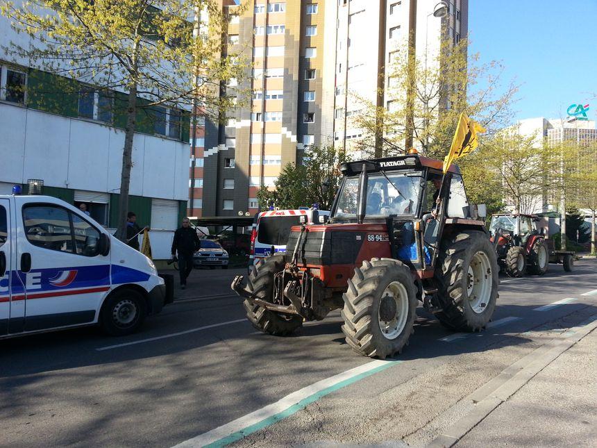 Arrivée en tracteur - Radio France