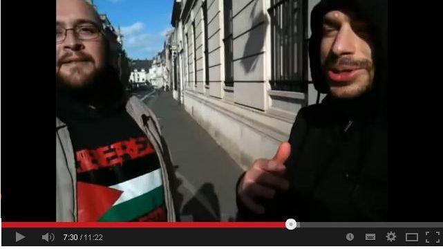 Capture d'écran de la vidéo des deux amiénois condamnés ce mardi