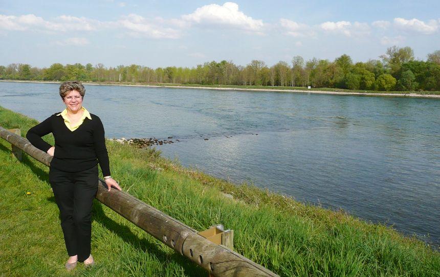 Marie-Bernadette Butzerin, maire de Mothern et le Rhin - Radio France