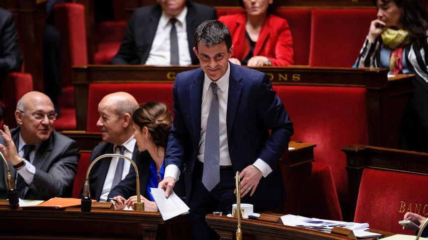 Manuel Valls, mardi à l'Assemblée nationale