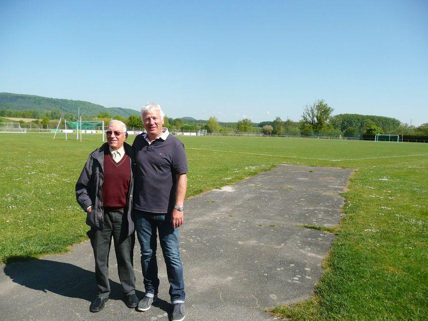 Robert Jung et Dany Diemer, piliers du foot à Monswiller - Radio France