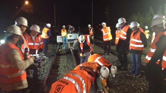 L'avancée des travaux SNCF sur les rails entre Carbonne et Longages