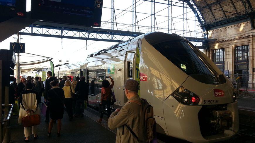Le TER Régiolis est fabriqué par Alstom