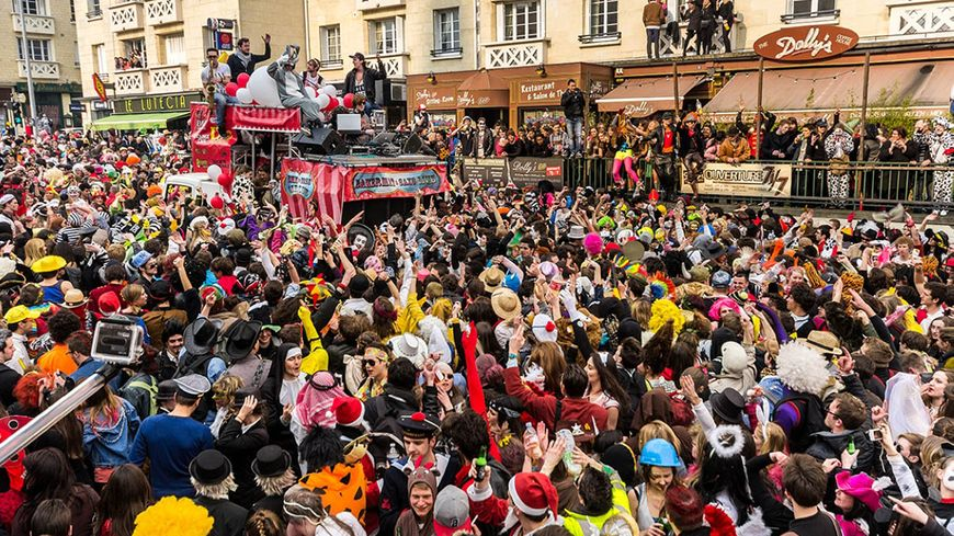 Le carnaval de Caen (illustration).