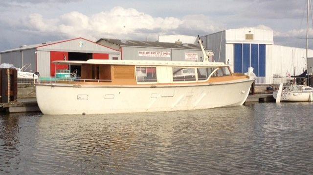 Première mise à l'eau du Greenboat
