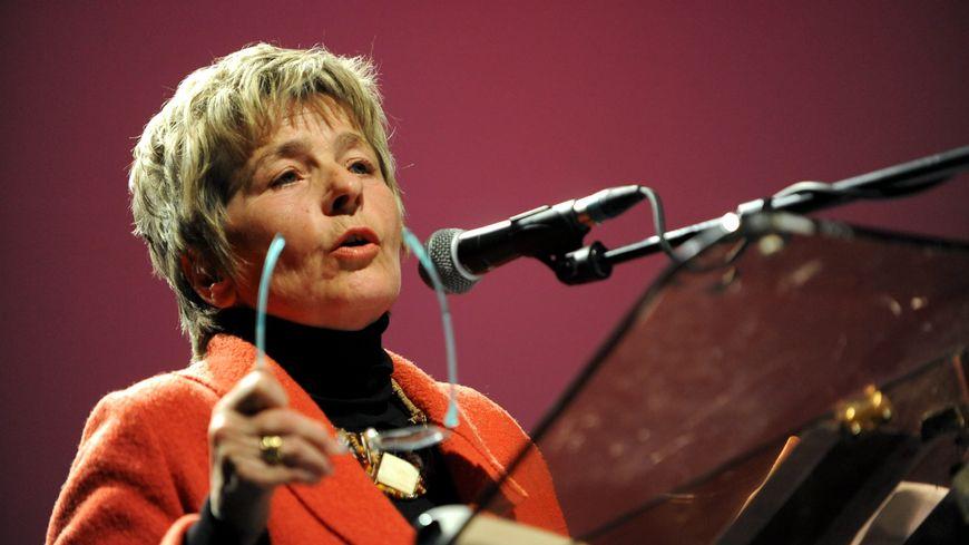 Marie-Guite Dufay, présidente du conseil régional de Franche-Comté