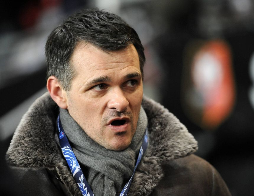 Willy Sagnol, l'entraîneur des Girondins de Bordeaux  - Radio France