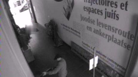 L'une des caméras de vidéosurveillance à l'intérieur du musée juif de Bruxelles a filmé la fusillade