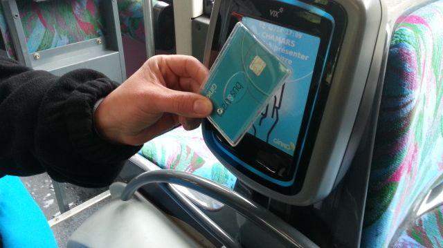 une carte sans contact pour les usagers des bus du grand besan on. Black Bedroom Furniture Sets. Home Design Ideas
