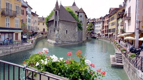 La ville d'Annecy (Haute-Savoie)