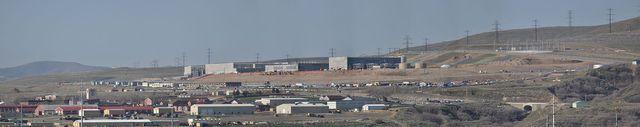 Utah Data Center Panorama