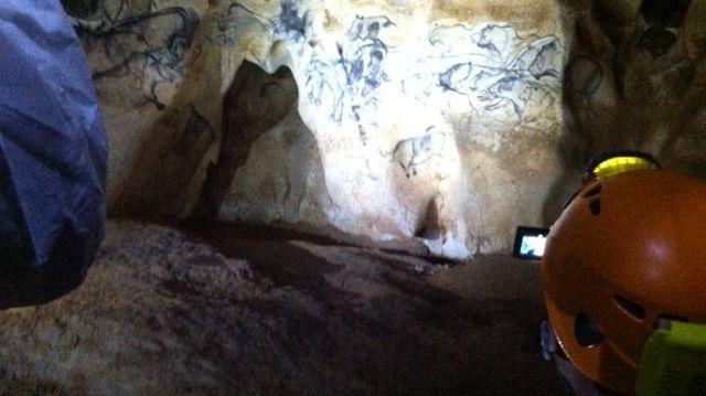 La grande scène de chasse de la grotte Chauvet-Pont d'Arc