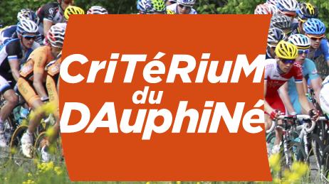 Suivez le Critérium du Dauphiné sur France Bleu.