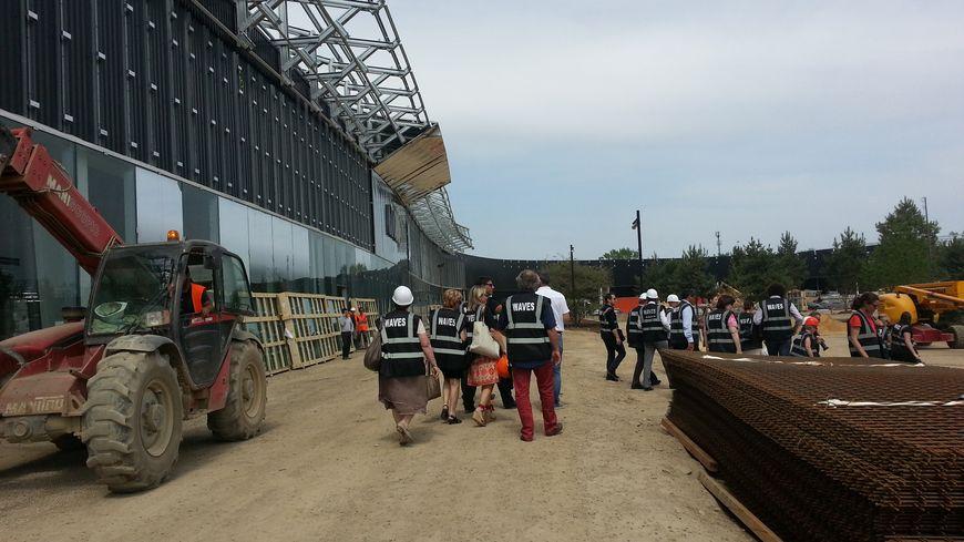 Le chantier de Waves Actisud à Moulins les Metz