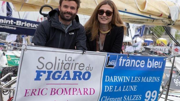 Voile - Solitaire du Figaro : Clément Salzes lève enfin l'ancre