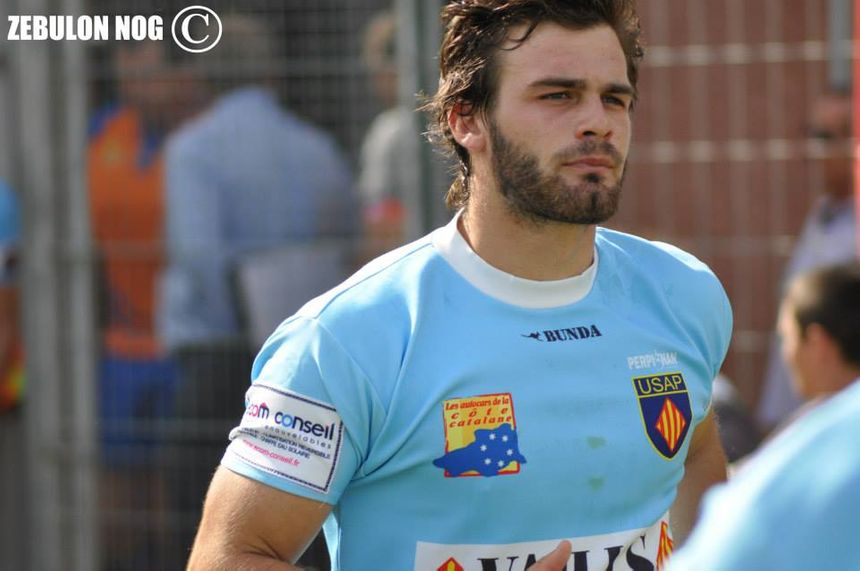 Jens Torfs, joueur de l'USAP et international belge - ZEBULON NOG