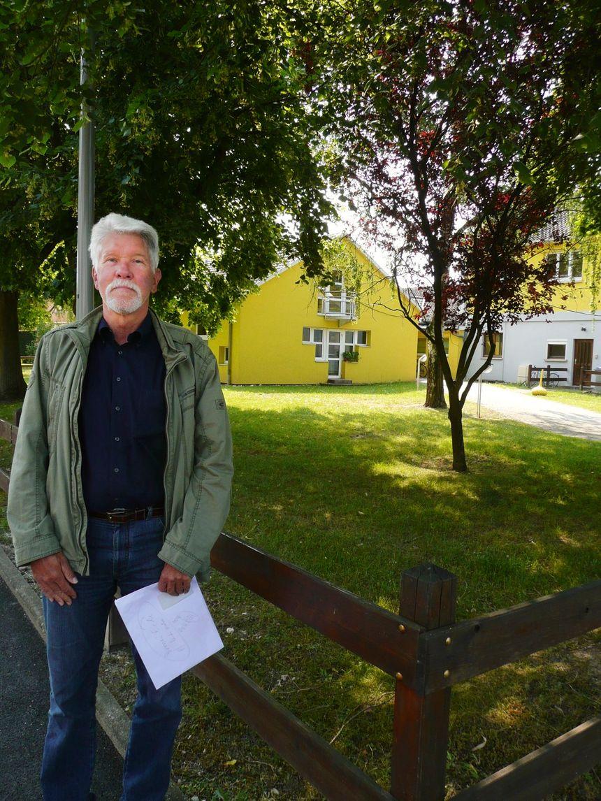 André Herrlich, adjt au maire de Fegersheim - Radio France