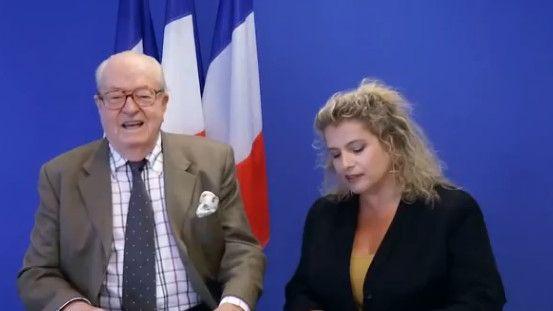 Jean-Marie Le Pen sur une vidéo de son blog - capture d'écran