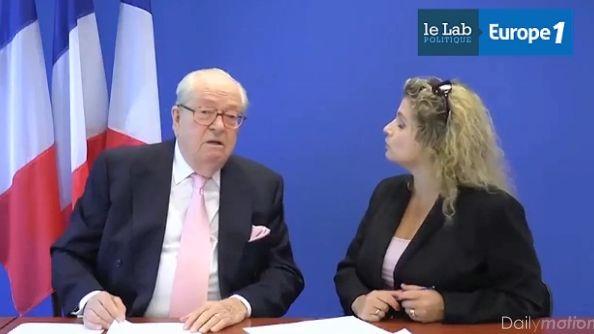 """""""Fournée"""" : la vidéo a depuis été supprimée du site du FN"""