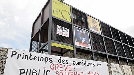 Le Printemps des Comédiens de Montpellier est en grève
