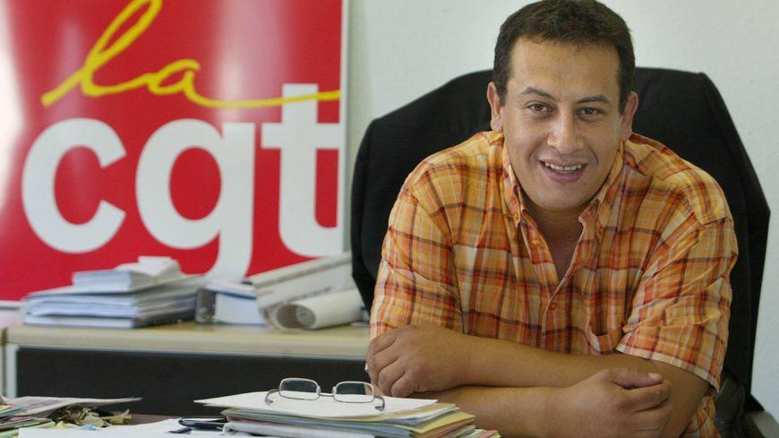 Maurad Rabhi, secrétaire général de la CGT textile, habillement, cuir