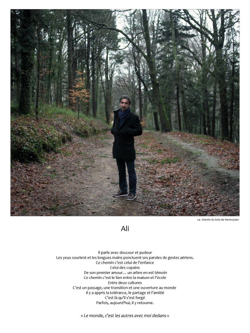Ali sur le chemin du bois de Kermoysan - pascal Pérennec