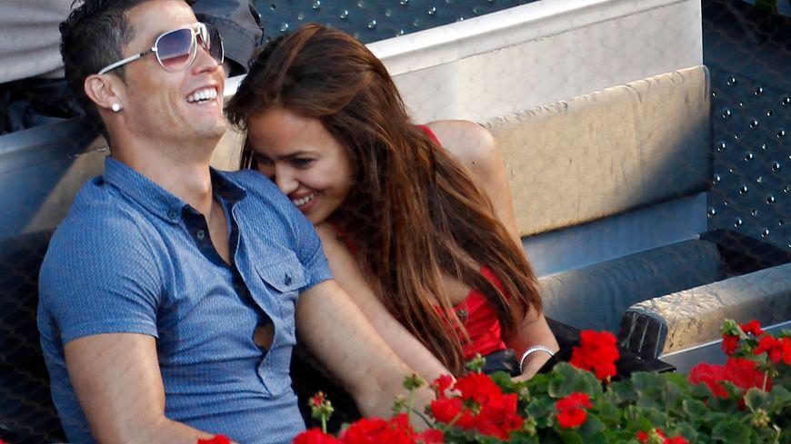 Cristiano Ronaldo et sa compagne Irina Shayk