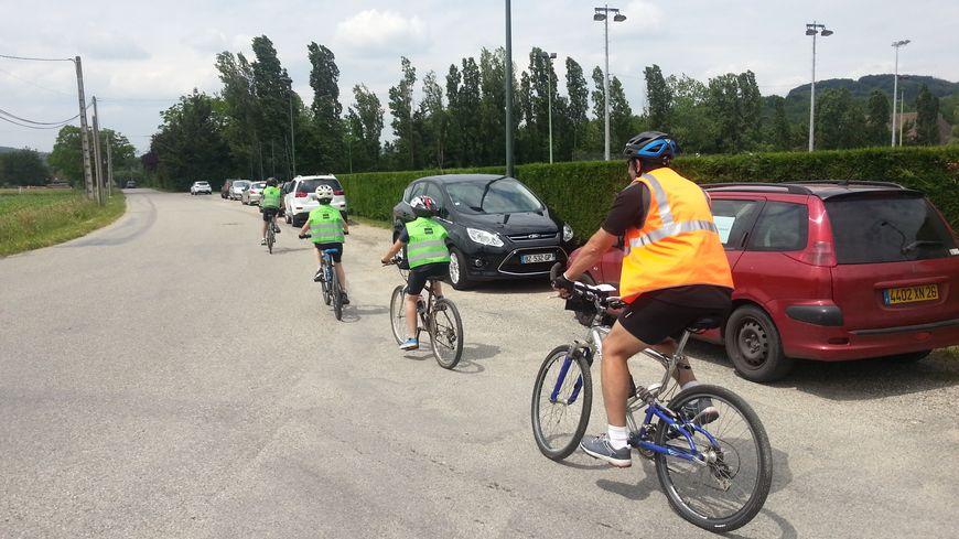 La Traversée de la Drôme à Vélo 2014