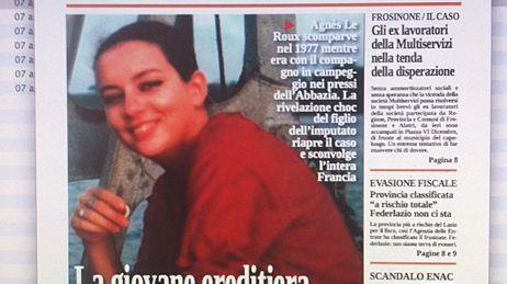 L'une des unes du journal local, L'Inchiesta de Cassino.