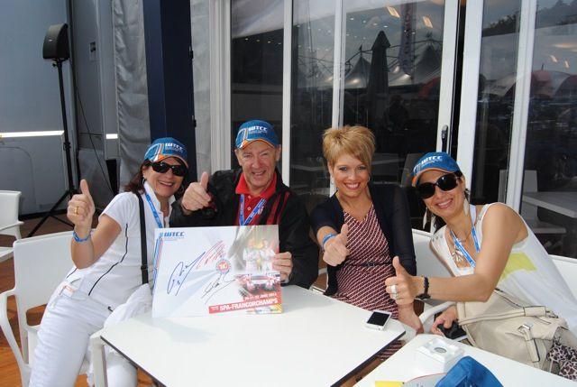 Les gagnants du séjour WTCC d'Alsace et de Lorraine - Elise Laurent