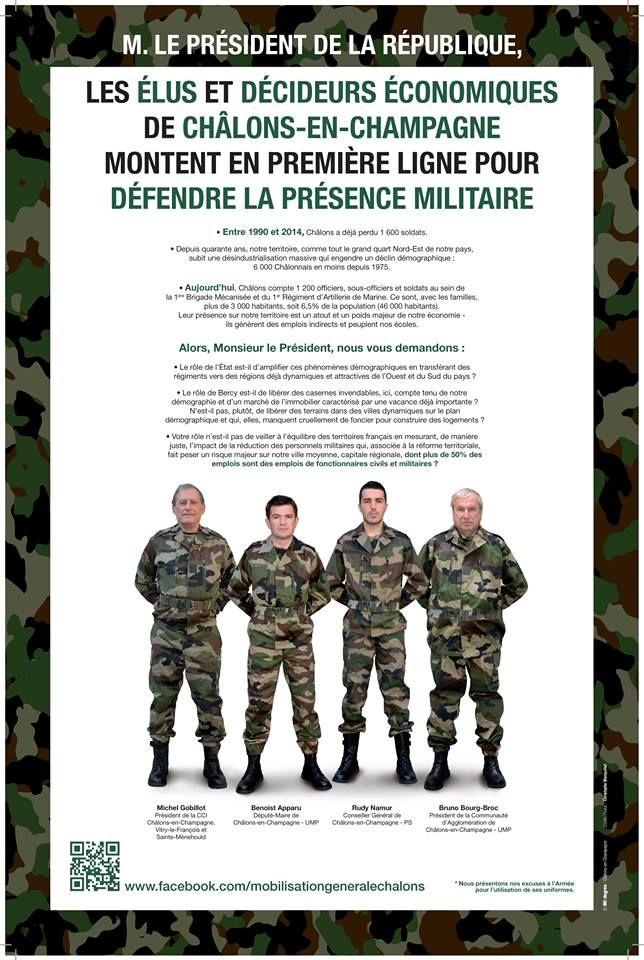 Mobilisation générale pour les militaires de Châlons-en-Champagne