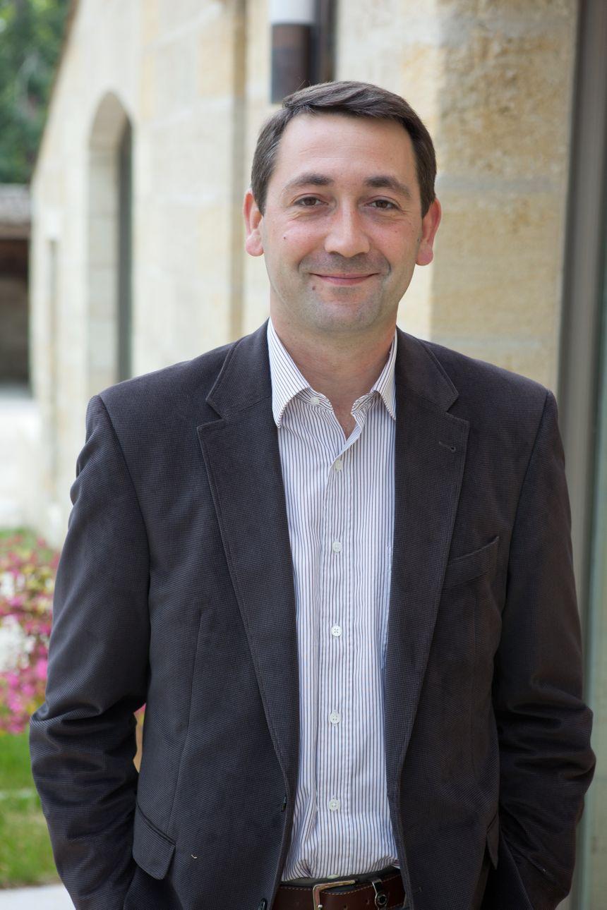 Frédéric Faye, directeur de Chateau Figeac