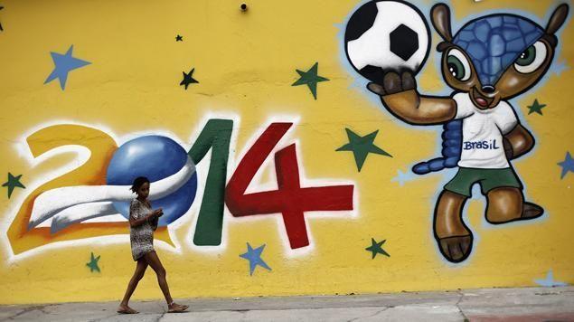 C'est parti pour le mondial de football