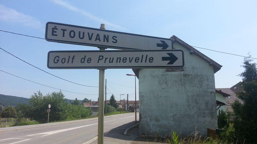 Etouvans, lieu du crime de Maxime
