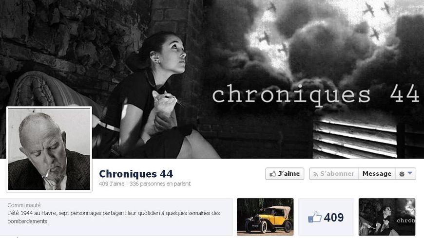 Chroniques 44 (capture d'écran).