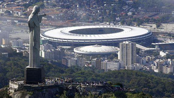 Le stade Maracanã, temple du football