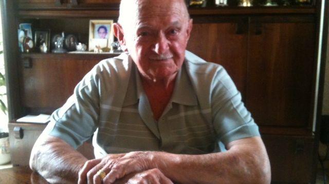 Emile Ceret, bientôt 95 ans, cuisinier des soldats du Jour J en Angleterre