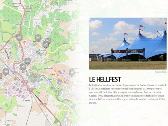 Visite guidée du Hellfest - Radio France