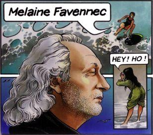 """Pochette de l'album """"Hey Ho"""" de Melaine Favennec, signée Bourgeon"""