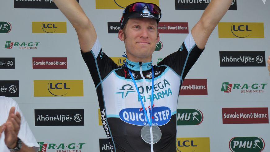 Jan Bakelants (Omega Pharma) remporte la 6e étape Grenoble-Poisy