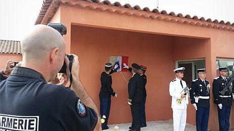 Cérémonie d'hommage aux deux gendarmes tuées