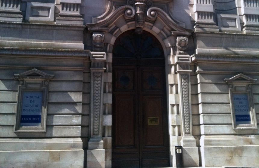 Le tribunal de grande instance de Libourne. - Radio France