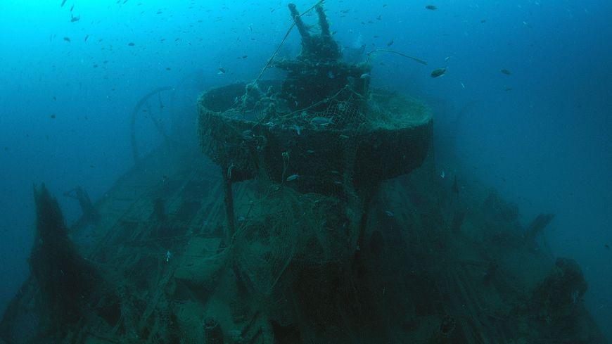 L'épave de l'Alice-Robert gît par 48 mètres de fond au large d'Argelès-sur-Mer